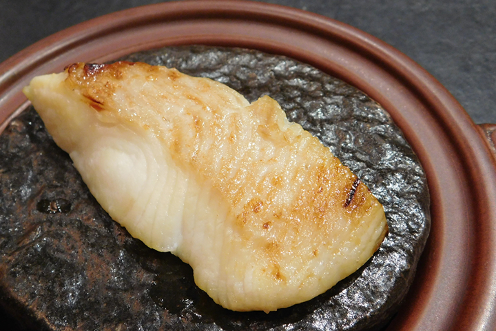 鰈の西京味噌焼き